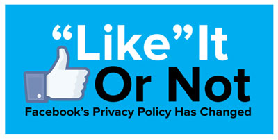 Do You Like The New Facebook Privacy Policy?