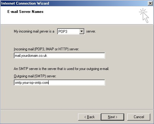 how to set up a bt email address